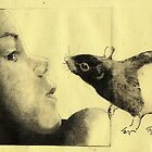 Girl and a Rat by freeminds