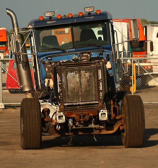 Truck 7957 Blue by Thomas Murphy