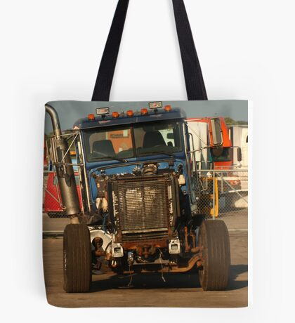 Truck 7957 Blue Tote Bag