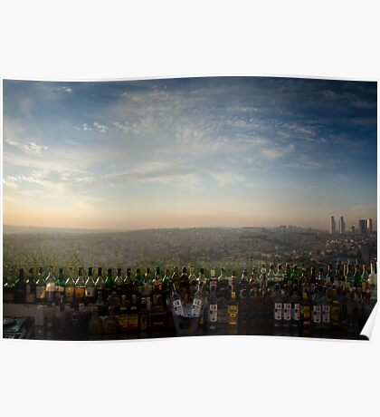 Bar at the Top of the World Poster