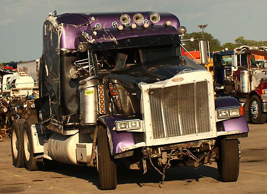 Truck 7950 Purple by Thomas Murphy