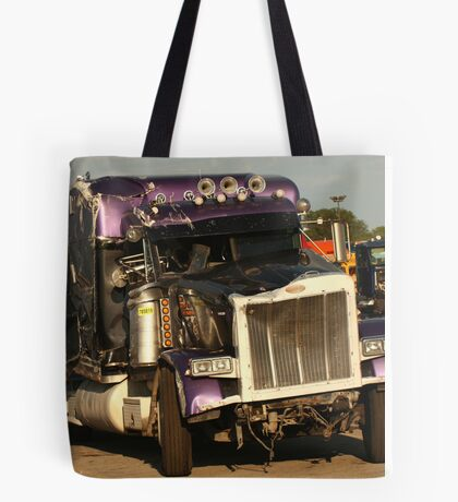 Truck 7950 Purple Tote Bag