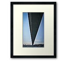 Bridging Continents Framed Print