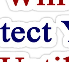 This Cuban Will Protect You Until The End  Sticker