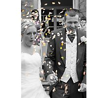 Throw That Confetti Photographic Print