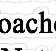 Water Polo Coaches Do Not Cry  Sticker