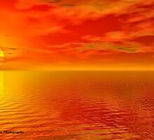 Sunset by peter donnan