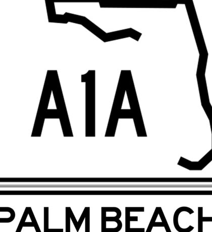 A1A - Palm Beach Sticker