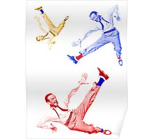 Jumping Fred Flash Poster