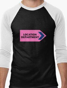 Location Department - Film Crew Men's Baseball ¾ T-Shirt