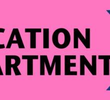 Location Department - Film Crew Sticker