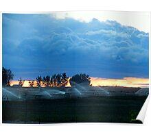 A.M. Blue's..Farm Country...Caldwell, Idaho Poster