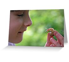 The wonders of creation... Greeting Card