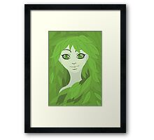 Mother Earth (Eyes Open) Framed Print