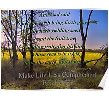 How To Make Life Less Complicated Poster