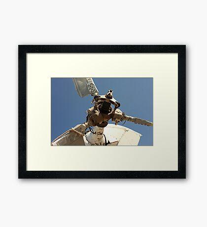 Helicopter Blades 7817 Framed Print