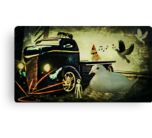 Am I still dreaming or is this for real? Canvas Print