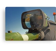 Barrel mounted M-60 Tank Light Metal Print