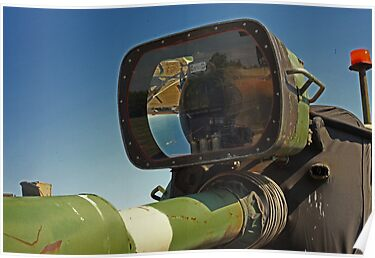 Barrel mounted M-60 Tank Light by Thomas Murphy