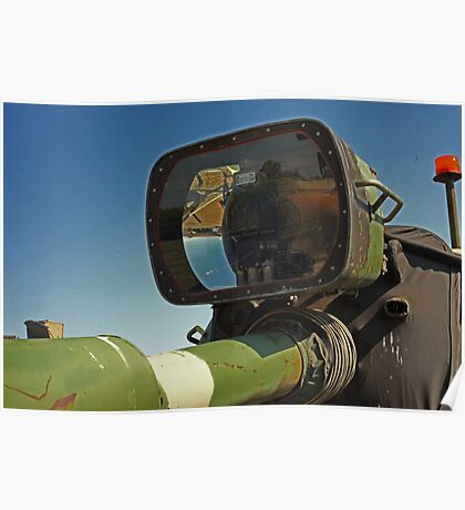 Barrel mounted M-60 Tank Light Poster