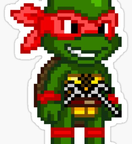 Raphael is Cool but Rude Sticker