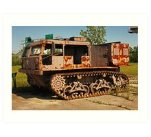 Armored Vehicle Image 7853 Art Print