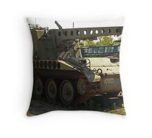 Armored Crane Image 7854 Throw Pillow