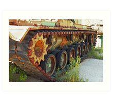 Tank Treads Art Print