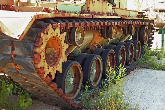 Tank Treads by Thomas Murphy