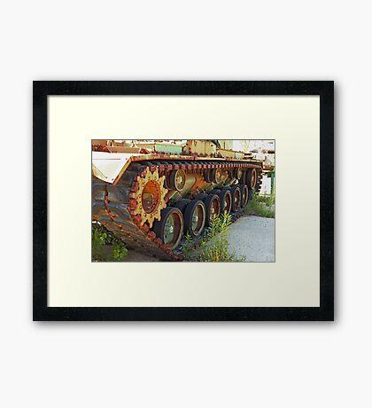 Tank Treads Framed Print