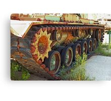 Tank Treads Canvas Print
