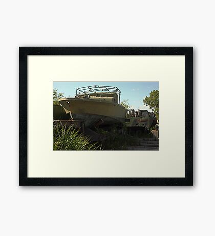 Military Boat 7870 Framed Print