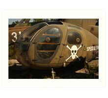 Helicopter Image 7884 Art Print