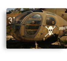 Helicopter Image 7884 Canvas Print
