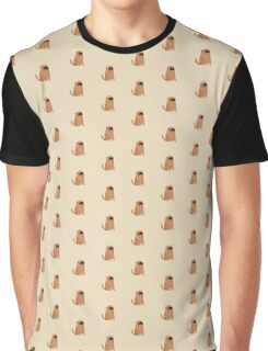Brown Doggy Graphic T-Shirt