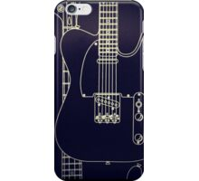 Fender Telecaster Guitar iPhone Case/Skin