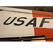 USAF Logo on Wing Photographic Print