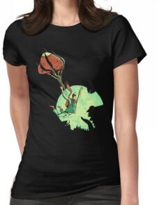 Bad Landing Womens Fitted T-Shirt