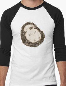 Plump Hedgehog Men's Baseball ¾ T-Shirt