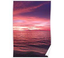 Puerto Galera Sunset 2 Poster
