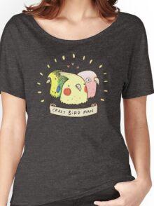 Crazy Bird Man Women's Relaxed Fit T-Shirt