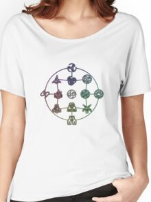 Avatar The Last Airbender; Forms of Bending Women's Relaxed Fit T-Shirt