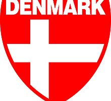 Denmark Flag and Shield by sexymoo