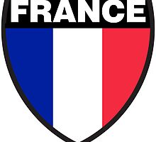 France Flag and Shield by sexymoo