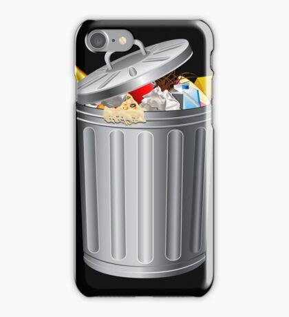 Trash Can Funny iPod / iPhone 5 Case / iPhone 4 Case  iPhone Case/Skin