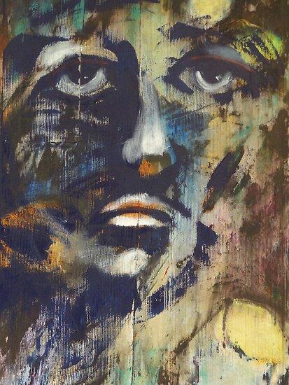 Painting One - Pintura Una by Bernhard Matejka