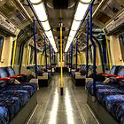 Inside Tube Train by Svetlana Sewell