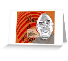 Bacon&Eggs Greeting Card