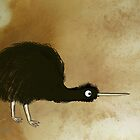 Black Kiwi by mindprintz
