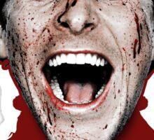 Christian Bale - American Psycho Sticker